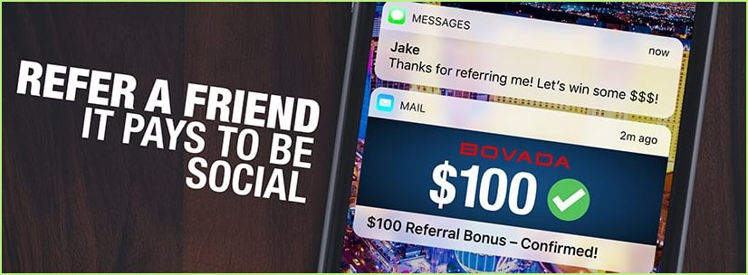 bovada's esports referral bonus