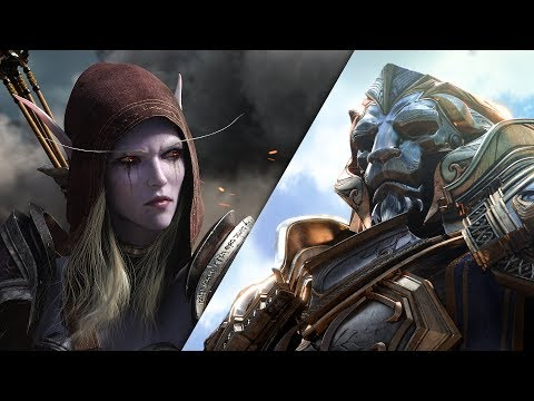 The official trailer of World of Warcraft: Battle for Azeroth